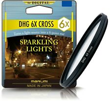 Marumi Digital High Grade Star Cross 6x Camera Filter 37mm - DHG37STAR6
