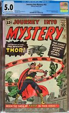 Journey into Mystery 83 (Aug 1962) CGC 5.0Origin and 1st appearance of Thor!
