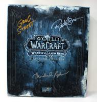 World of Warcraft Lich King Sammler - Signed Brower Street RARE Leerbox  EMPTY