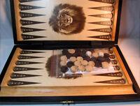 Backgammon 42 x 37 cm Holz