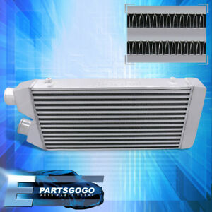 "Universal 27.5""X11""X2.75"" Tube Fin Front Mount Fmic Same Side Intercooler Turbo"