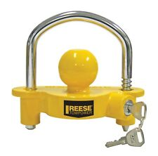 Reese Towpower Universal Trailer Coupler Lock Towing Security Hitch Locks NEW