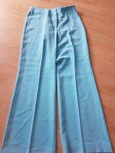 Gorgeous Aqua Trousers & Matching Top LIBRA Size 12