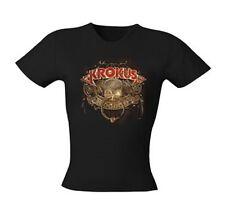 KROKUS - Hoodoo Album - Girlie Girl Damen Woman Shirt - Größe Size L