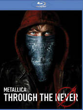 Metallica Through the Never (Blu-ray Disc, 2014, 2-Disc Set)