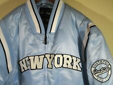"""SOUTHPOLE """"NEW YORK"""" Puffy Jacket Powder Blue ( MEDIUM 51"""" CHEST) QUILTED LINING"""