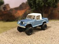 1970 Jeep Jeepster 4x4 Truck Lifted 1/64 Diecast Custom Farm Off Road Mudder 4WD