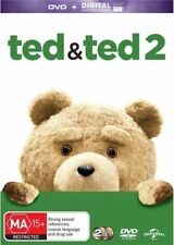 Ted / Ted 2 (DVD, 2015, 2-Disc Set)