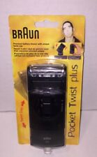 Braun 370 Pocket Twist Plus Electric Shaver New Sealed