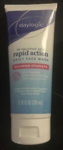 Daylogic 2% Salicylic Acid Rapid Action Daily Face Wash ~Maximum Strength ~ Acne