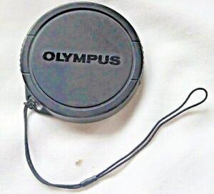 Genuine Olympus 54mm  Push on Lens Cap  with retaining Cord   B1