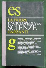 La nuova Enciclopedia delle Scienze, Ed. Garzanti