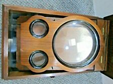 Antique Graphoscope Stereo Card & Post Card Viewer Folding Magnifier