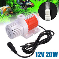12V Mini Solar Power Submersible Water Fountain Pump Garden Pond Pool 5m Lift