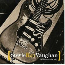 STEVIE RAY VAUGHAN Interview/Lesson disc on GUITAR WORLD RECORDS w/Andy Aledort