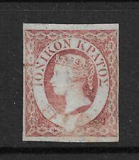 Ionian Islands (Greece) QV stamp.