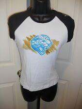 NEW Jacksonville JAGUARS Womens Sizes S-L-XL Reebok Cute Cropped sleeve Shirt