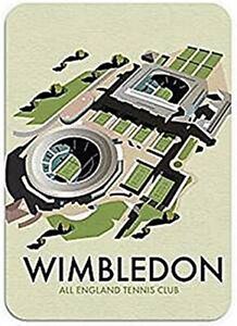 Wimbledon all England Tennis Club Computer Mouse Mat  230mm x 195mm (se)
