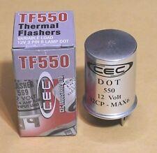 Turn Signal Flasher CEC  TF550 1967 -1981 Alpha Romeo 1972 - 1981 Fiat