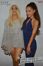 Ariana Grande & Lady Gaga-a3 poster (environ 42 x 28 CM) - captures fan collection