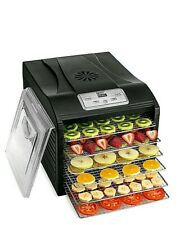 MAGIC MILL Professional Food Dehydrator Machine, 6 Stainless Steel Drying Racks,