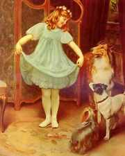 Elsley Arthur The New Dress A4 Print