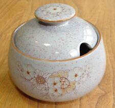 Denby Lidded Sugar Bowl or Preserve or Jam Pot or Dish - REFLECTIONS