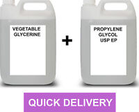VEGETABLE GLYCERINE (VG) & PROPYLENE GLYCOL (PG) -YOUR CHOICE MIX AND SIZE