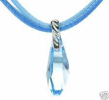 David Sigal 925 Sterling Silver Blue Triple Strand Cord Necklace ...