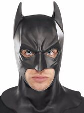 Batman Full Mask with Cowl Adult Begins The Dark Knight Rises Costume Accessory