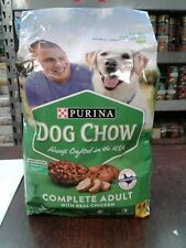 4.4lbs Purina Dog Chow Dry Dog Food, Complete  With Real Chicken EXP:08/21