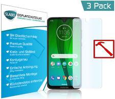 3 x Slabo PREMIUM Panzerglasfolie für Motorola Moto G7   Moto G7 Plus KLAR
