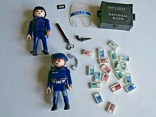 PLAYMOBIL accessories Police figures money gun truncheon  job lot collection