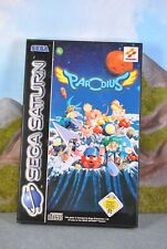 Sega Saturn Parodius mit Beschreibung PAL