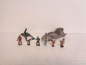 1996 Galoob Star Wars Action Fleet Battle Pack #6 Dune Sea Vehicle Set Complete