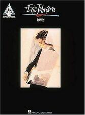 ERIC JOHNSON TONES GUITAR RECORDED VERSIONS HAL LEONARD 1995 Paperback BOOK NEW!