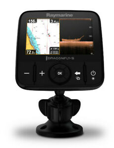 Raymarine E70293 Dragonfly-5 Pro Sonar/GPS - 5 Inch 12.7 cm with built-in Chirp