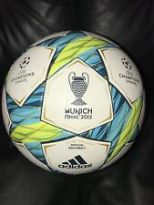 Adidas  champions league soccer ball size 5 GOLDEN LINES !!!!! Finale 2012