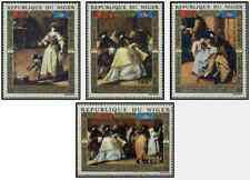 Timbres Arts Tableaux Niger PA176/9 ** lot 17695