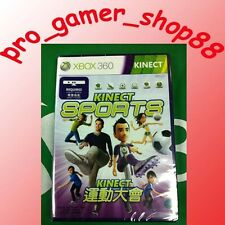Xbox 360 Kinect Sports BRAND NEW OFFICIAL FREE POSTAGE ENGLISH *REGION FREE