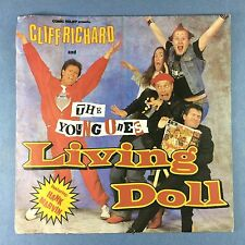 Cliff Richard & The Young Ones - Living Doll - WEA YZ-65 Ex Condition A1/B1