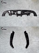 CARKING BLACK PAINTED DIFFUSER & REAR SPLITTERS SPOILER for 2009+ NISSAN 370Z