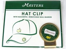NEW 2018 Masters Golf Tournament Hat Clip w/ Ball Marker- Augusta National