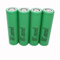 4pcs 18650 2500mAh 25R 3.7V Li-ion INR Battery Rechargeable High Drain