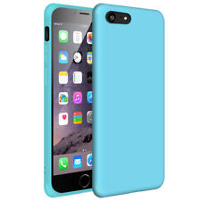 iPhone 6s / 6 (Light Blue) Matte Funda Carcasa Case Bumper Silicone (Blue Light)