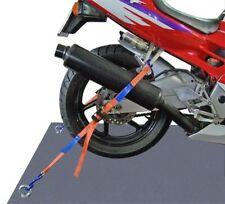 2 Stück Motorrad Spanngurt Zurrgurt Zurrsystem hinten Motorradsicherung Neu