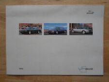 JAGUAR DAIMLER RANGE 1998 fold-out brochure - XK8 XJ8 Super V8 Sovereign XJR