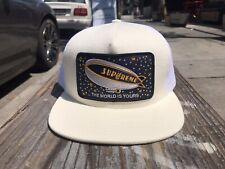Supreme Blimp Mesh Back 5-Panel White/Off White/Beige Trucker Hat Cap FW20