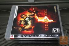 Resident Evil 5 1st Print (PlayStation 3, PS3 2009) FACTORY SEALED! - RARE!