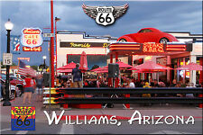 Route 66 Fridge Magnet Cruisers Bar and Grill in Williams, AZ 66 Collectible